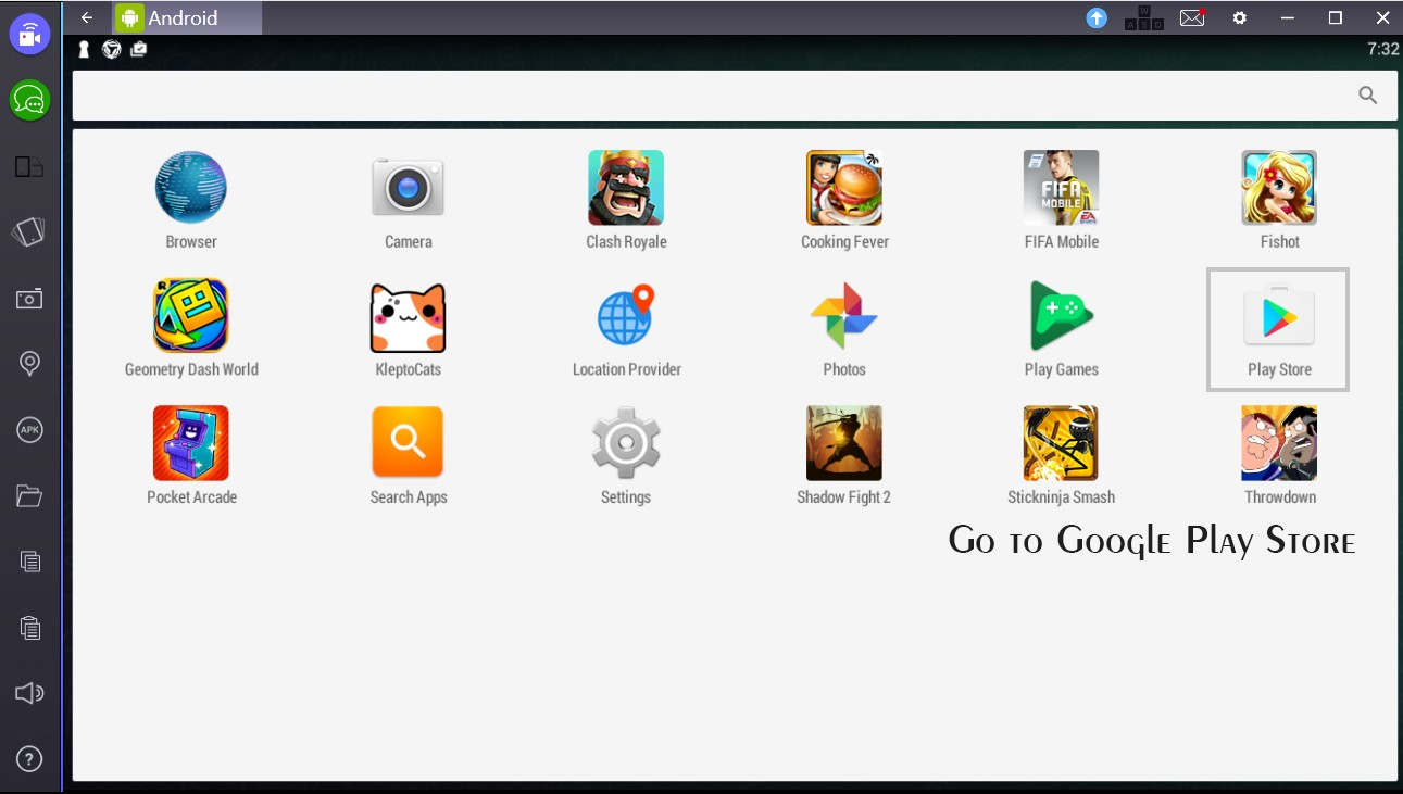 How to download apps for Bluestacks