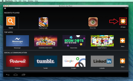 Bluestacks for Mac OS