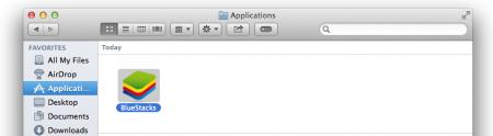 Uninstalling BlueStacks on Mac OS